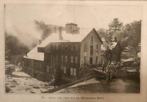 Old cutlery mill Bernardston, MA