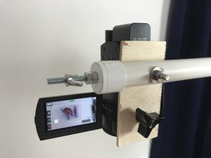 Additional bolt for multiple cameras